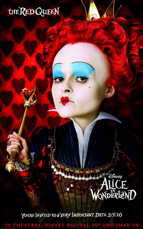 red queen alice in wonderland name
