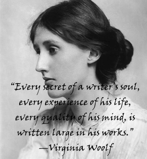 personal experiences in virginia woolfs writing When examining the works of both george eliot and virginia woolf both authors also reveal the authority of personal experience significance of everyday occurrences and internal subjectivity to uncover what has been erased during the patriarchal writing of history.